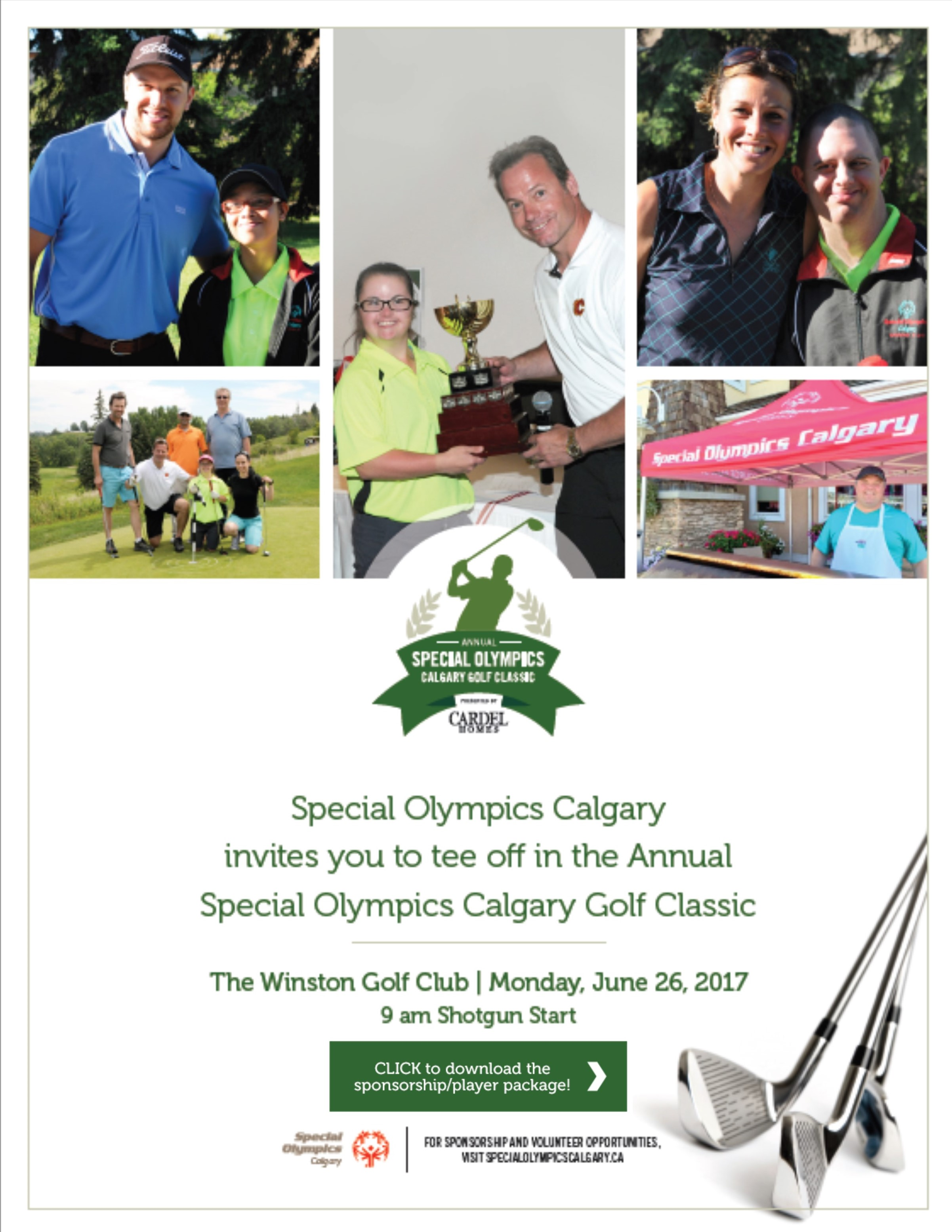 Golf Classic page